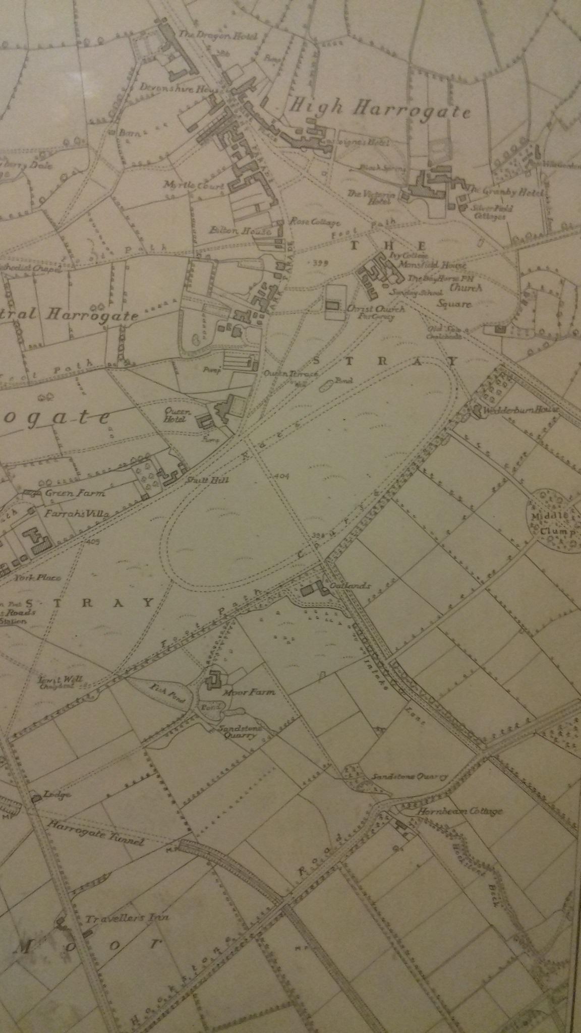 Map Of Ireland Racecourses.Harrogate Racecourse